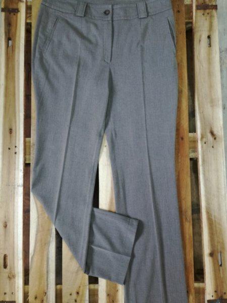 Дамски панталон в сиво